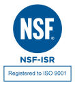NSF NSF-ISR Registered to ISO-9001